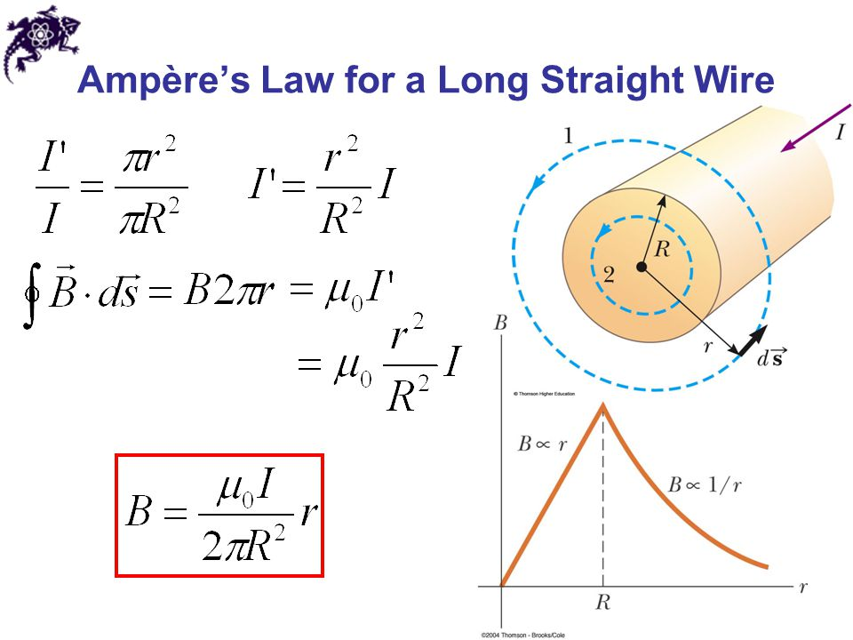 Ampère's Law for a Long Straight Wire