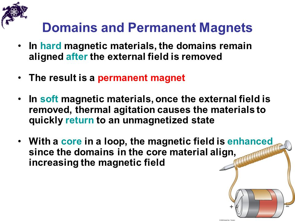 Domains and Permanent Magnets