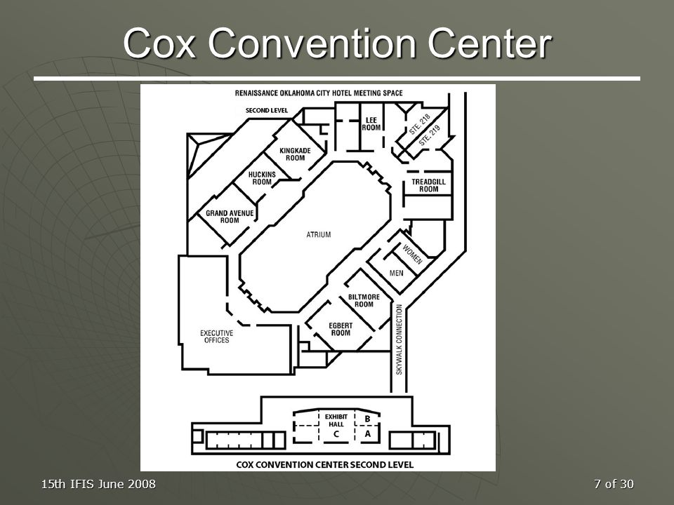 Cox Convention Center 15th IFIS June 2008
