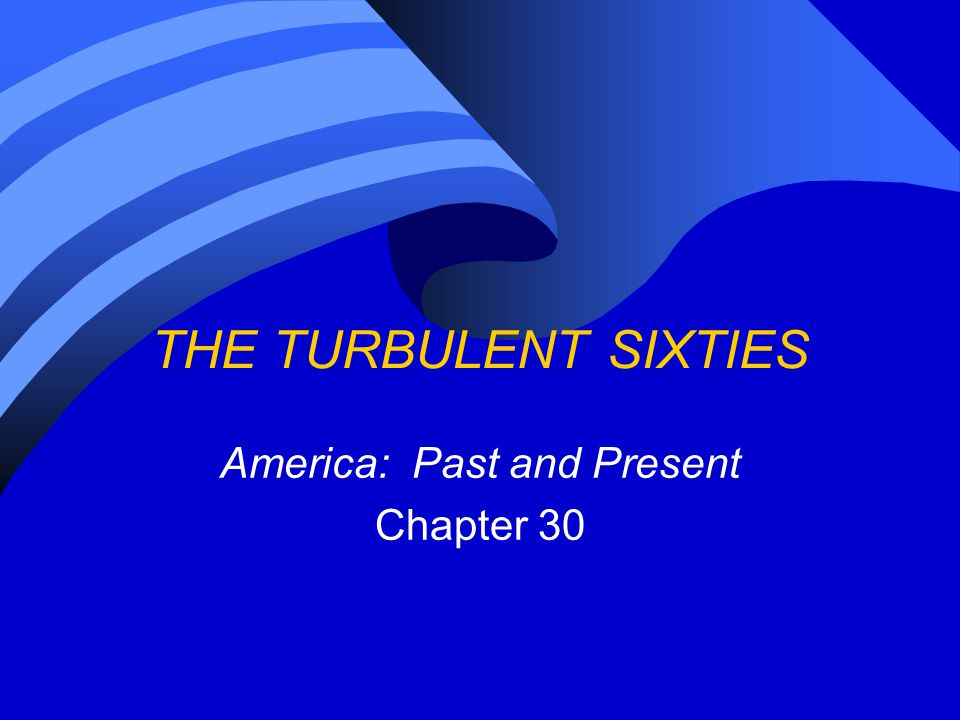 America: Past and Present Chapter 30