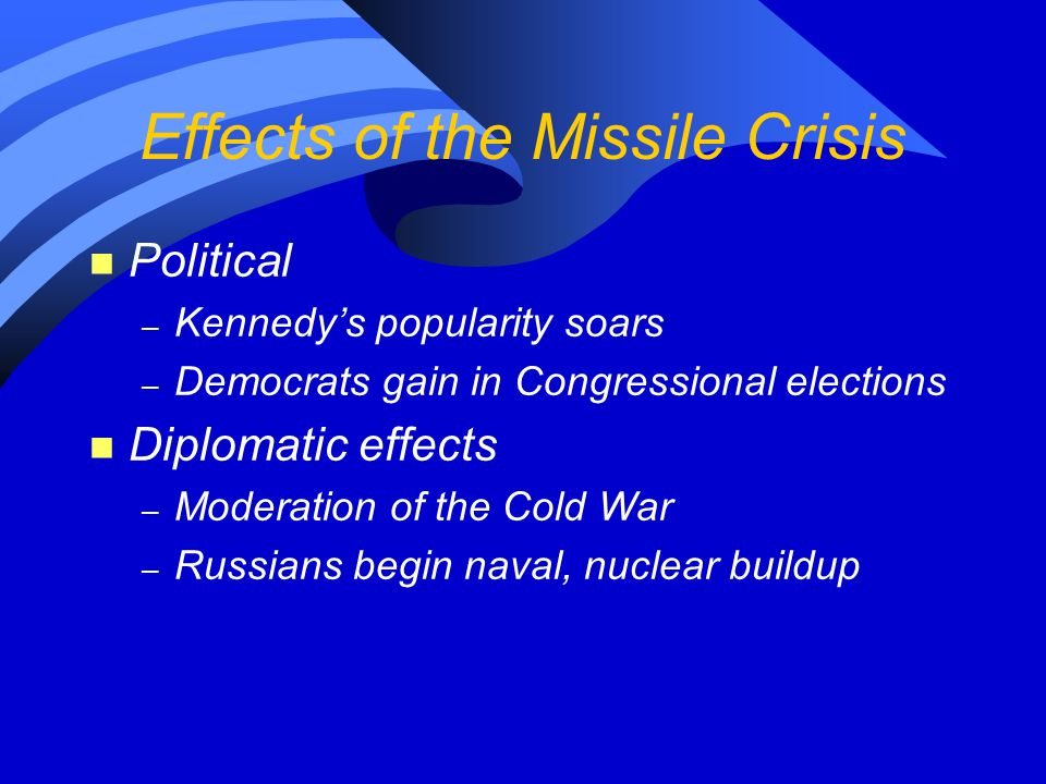 Effects of the Missile Crisis