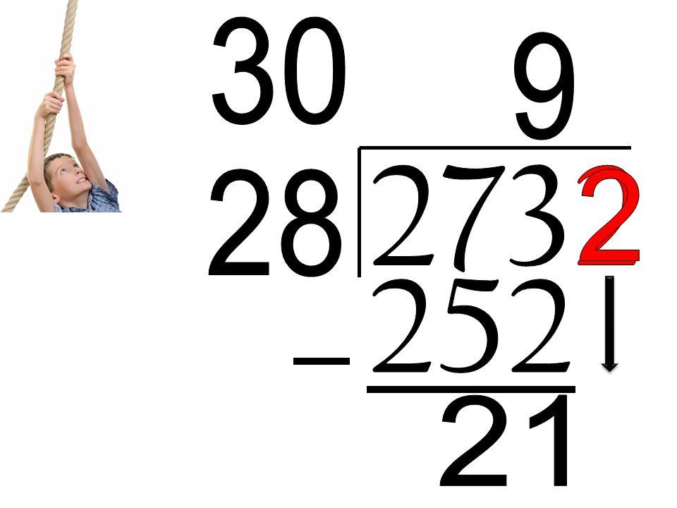 30 9 2732 28 2 252 21