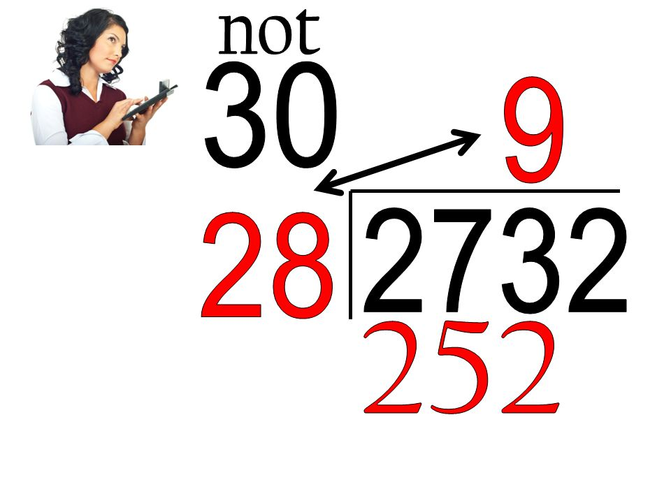 not 30 9 2732 28 252