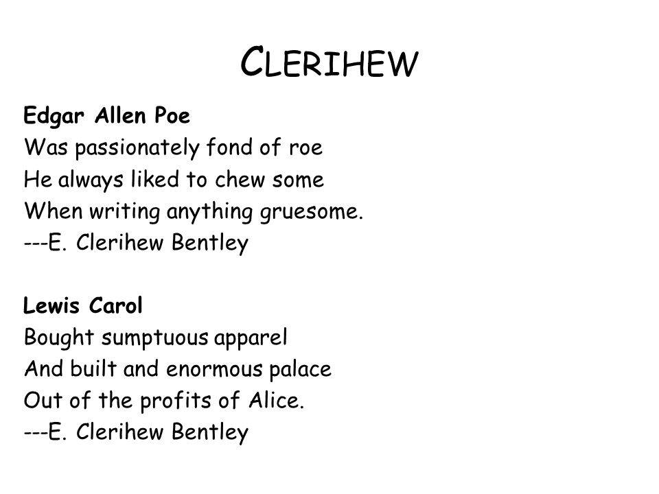 Clerihew