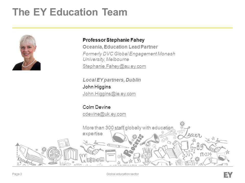 The EY Education Team Professor Stephanie Fahey