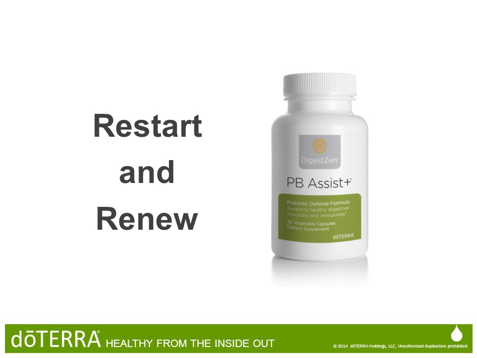 Restart and Renew   HEALTHY FROM THE INSIDE OUT