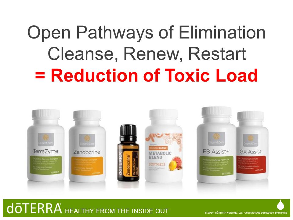 = Reduction of Toxic Load