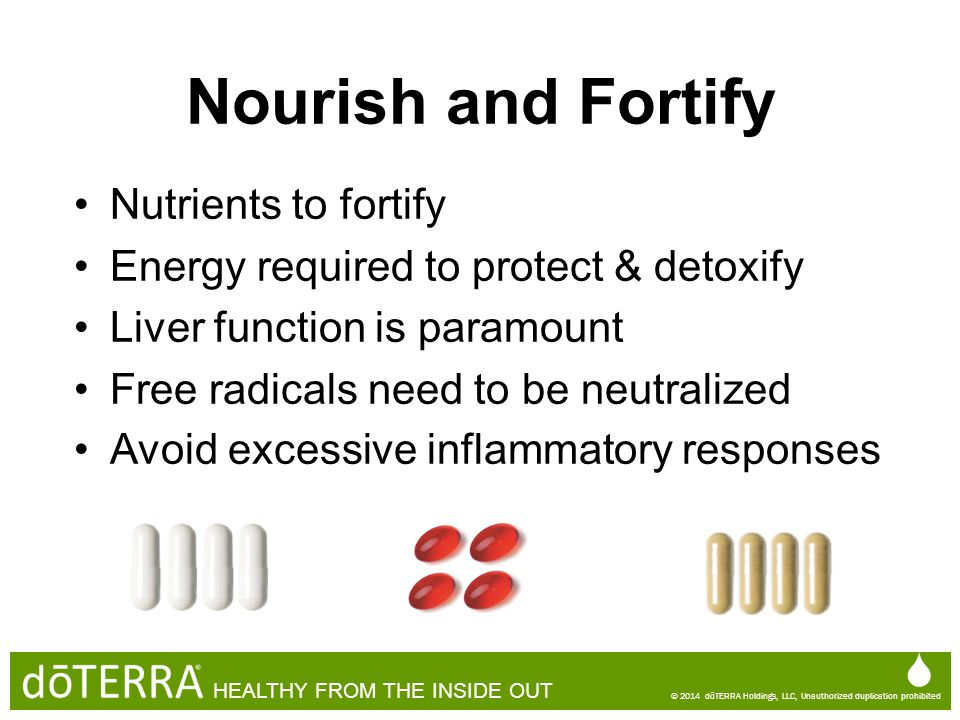Nourish and Fortify   Nutrients to fortify