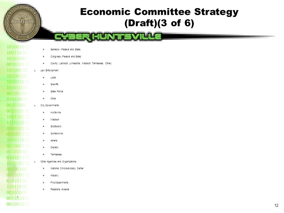 Economic Committee Strategy (Draft)(4 of 6)