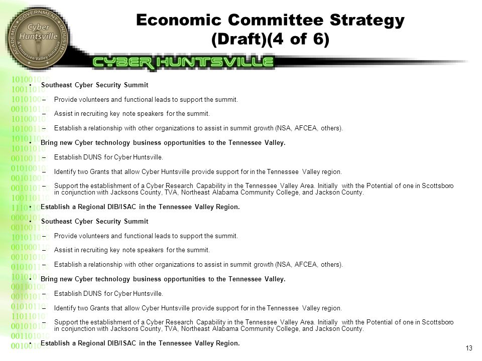 Economic Committee Strategy (Draft)(5 of 6)