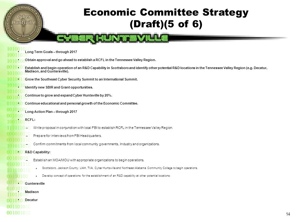 Economic Committee Strategy (Draft)(6 of 6)