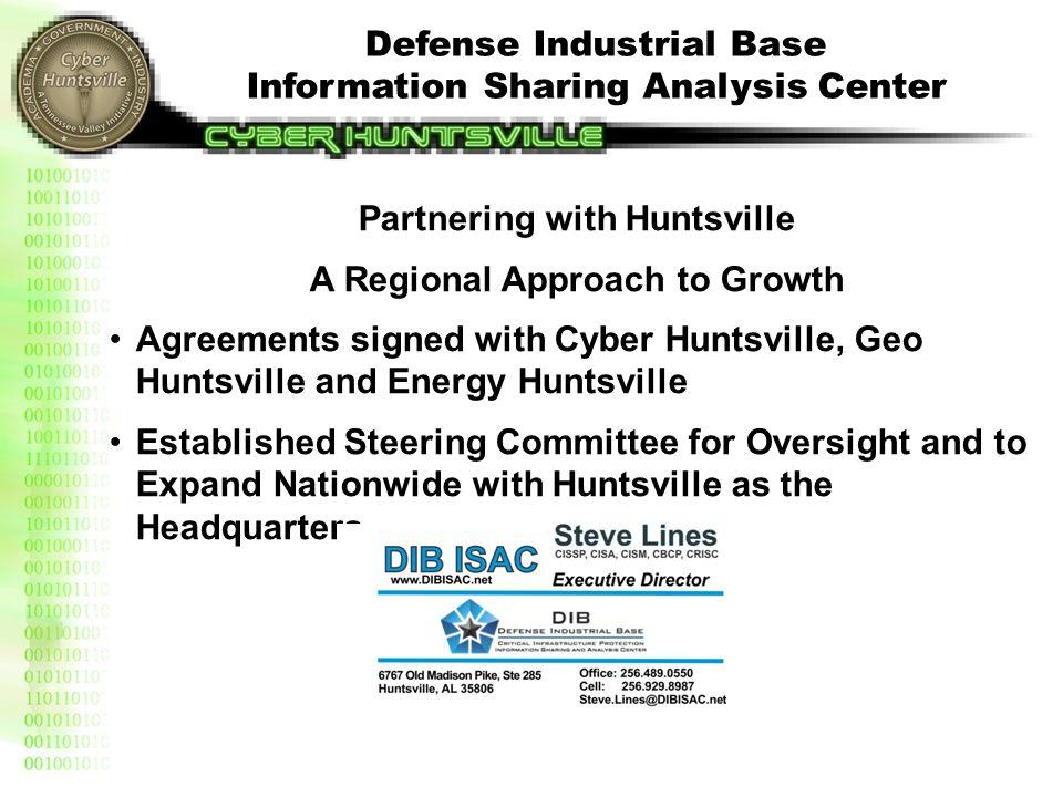 Defense Industrial Base Information Sharing Analysis Center