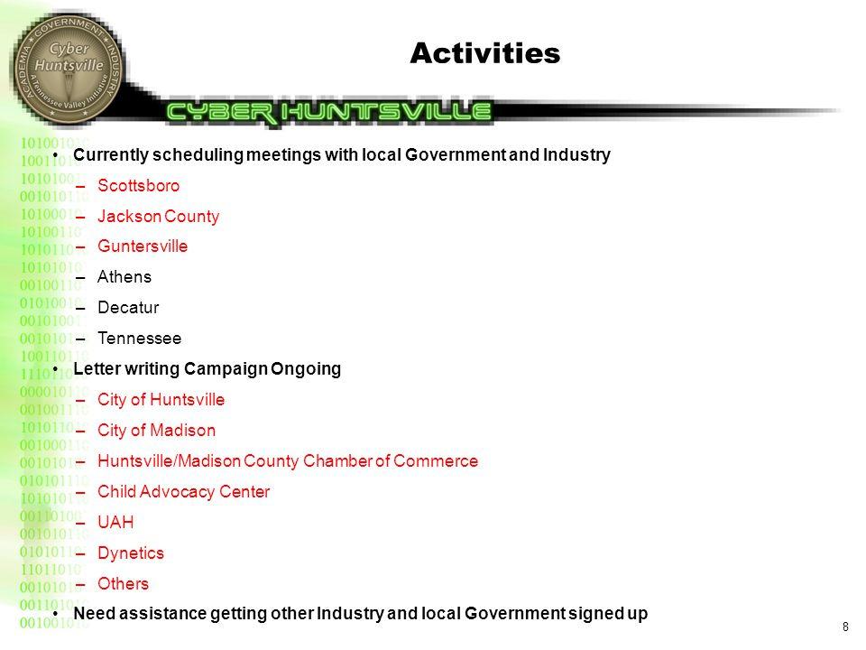 Cyber Huntsville and Economic Committee Strategic Plan Updates