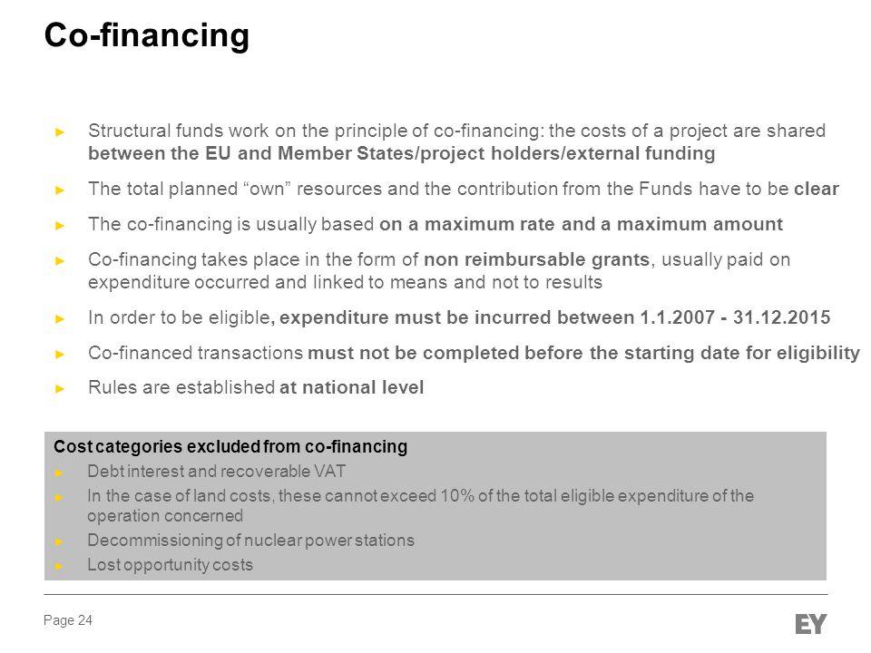 Co-financing