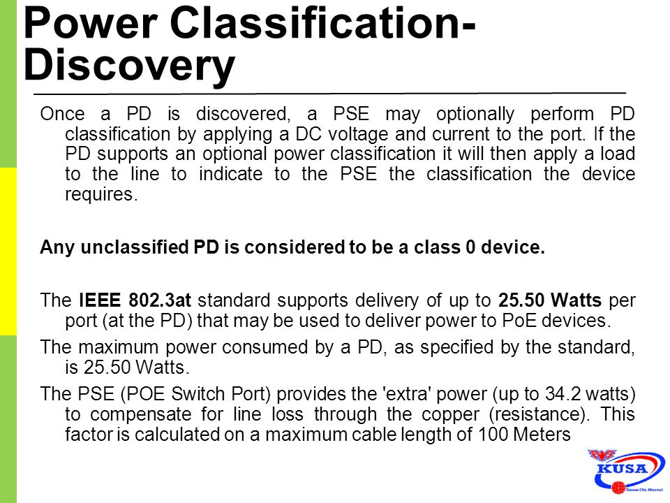 Power Classification- Discovery