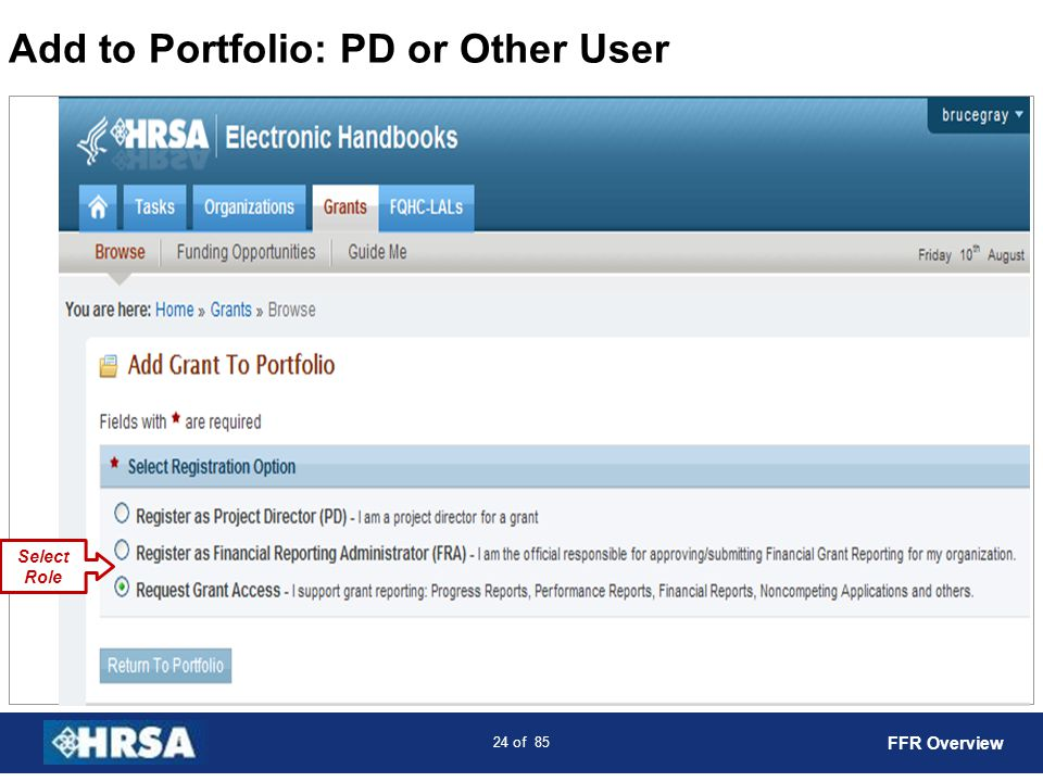 Add to Portfolio: PD or Other User
