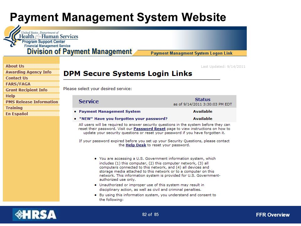 Payment Management System Website