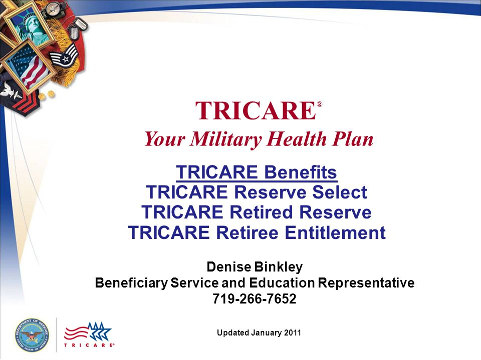 TRICARE® Your Military Health Plan