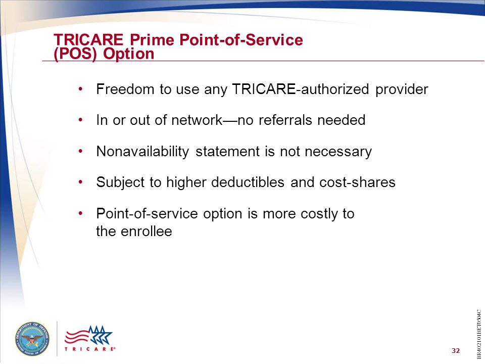 TRICARE Prime Point-of-Service (POS) Option