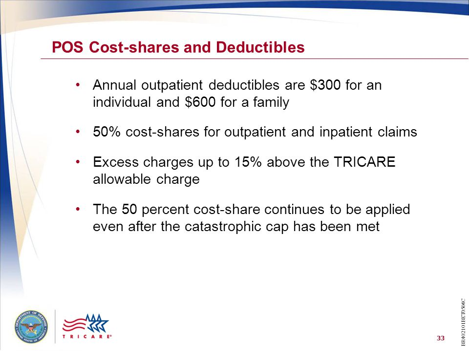 POS Cost-shares and Deductibles
