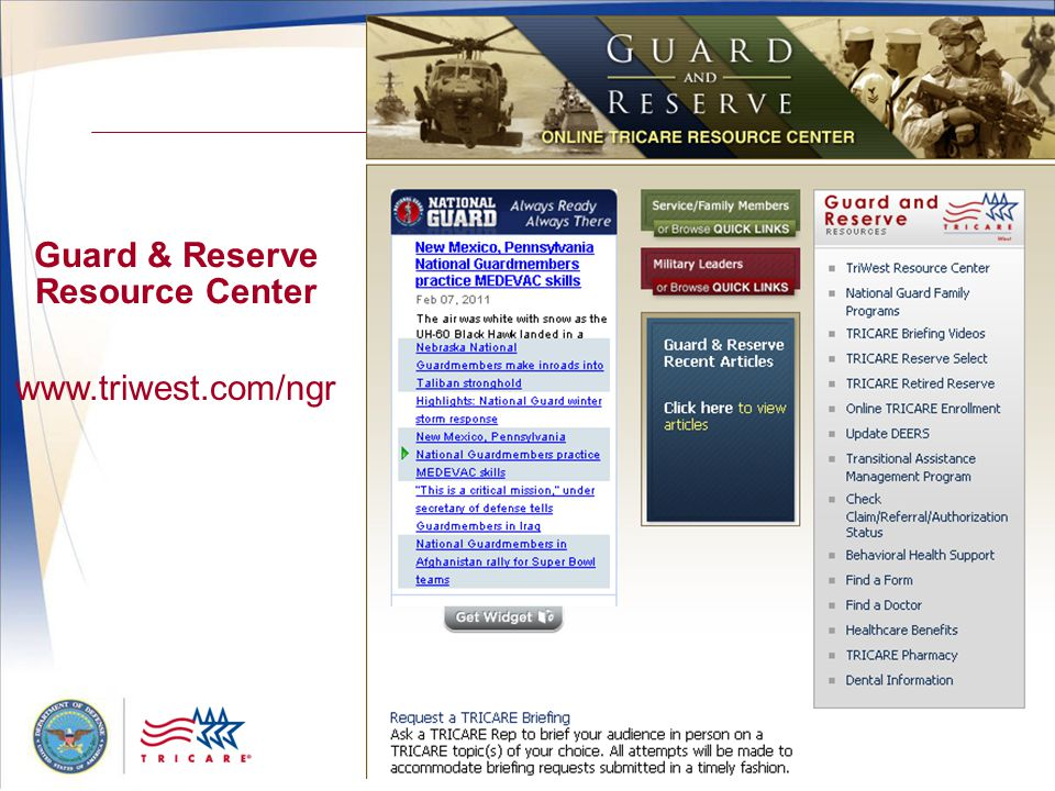 Guard & Reserve Resource Center