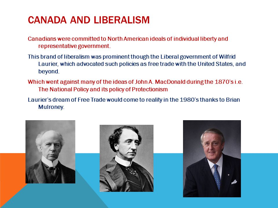 Canada and LIBERALISM