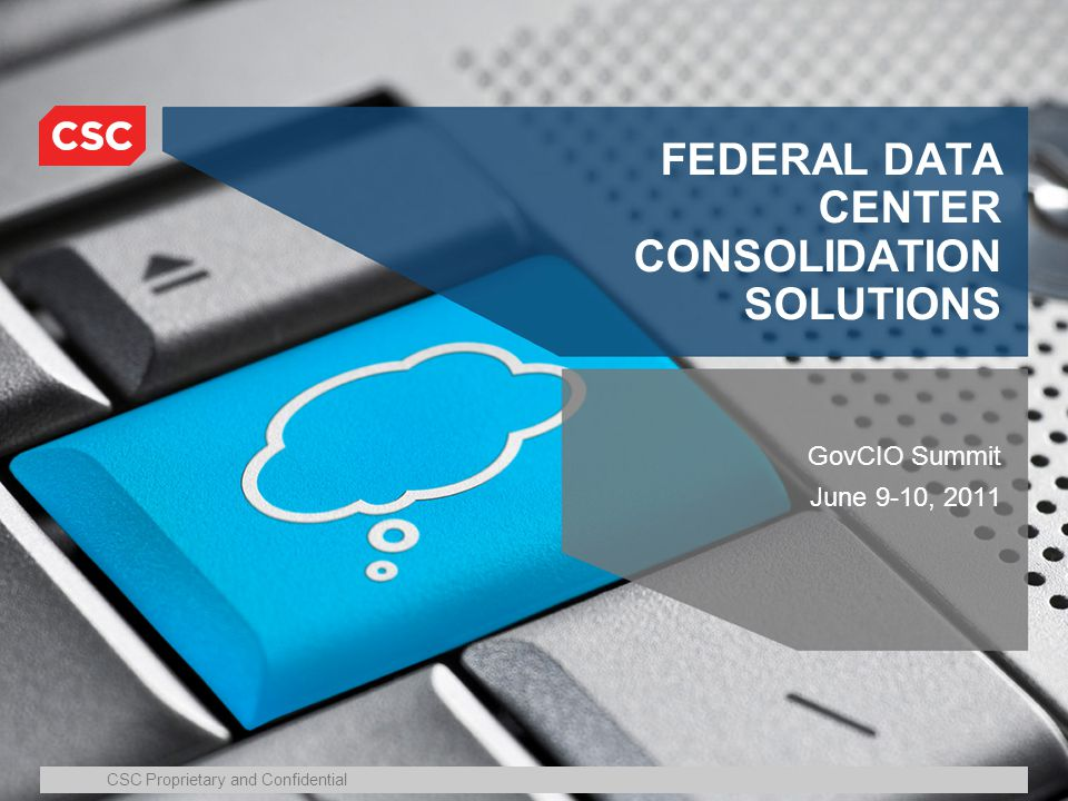 FEDERAL DATA CENTER CONSOLIDATION SOLUTIONS