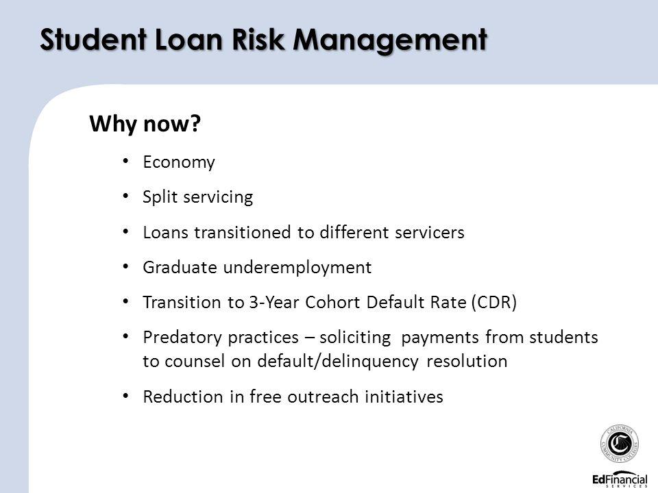 Student Loan Risk Management