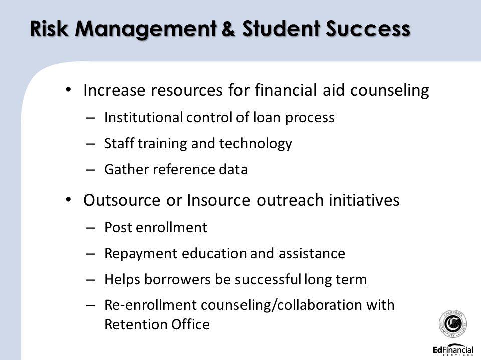 Risk Management & Student Success
