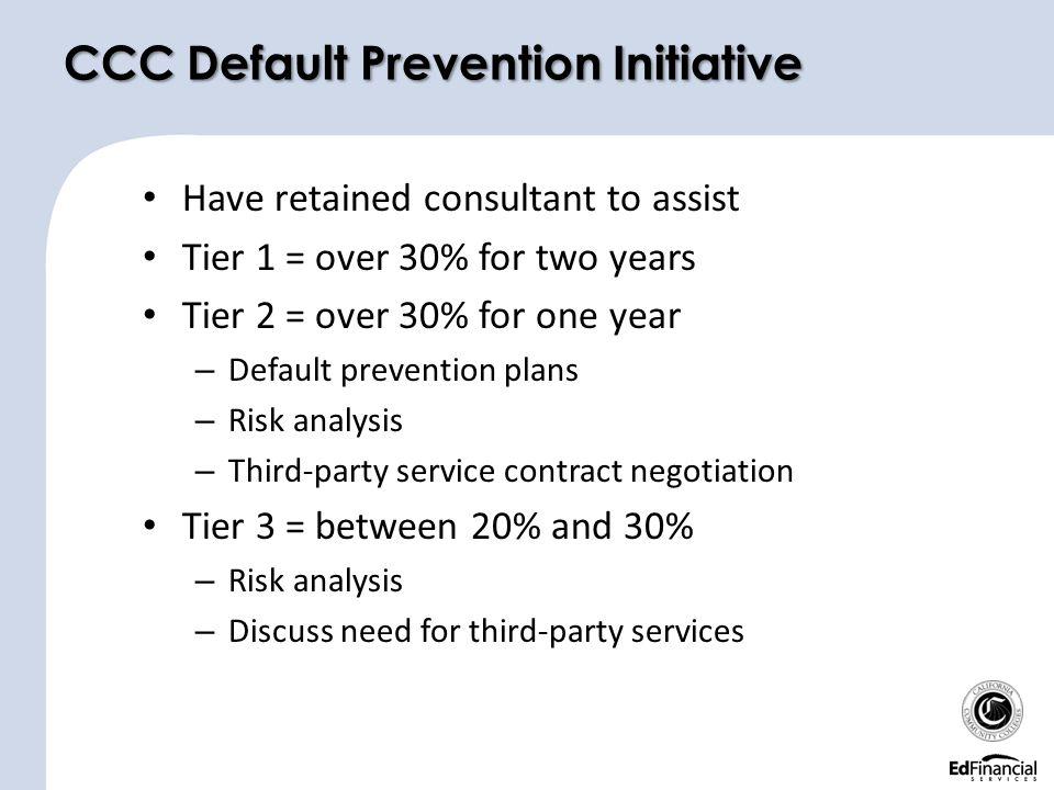 CCC Default Prevention Initiative