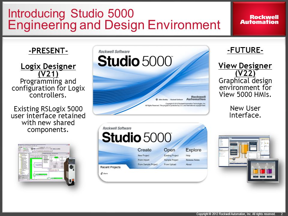 Introducing Studio 5000 Engineering and Design Environment