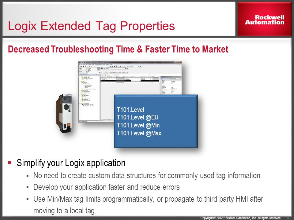 Logix Extended Tag Properties