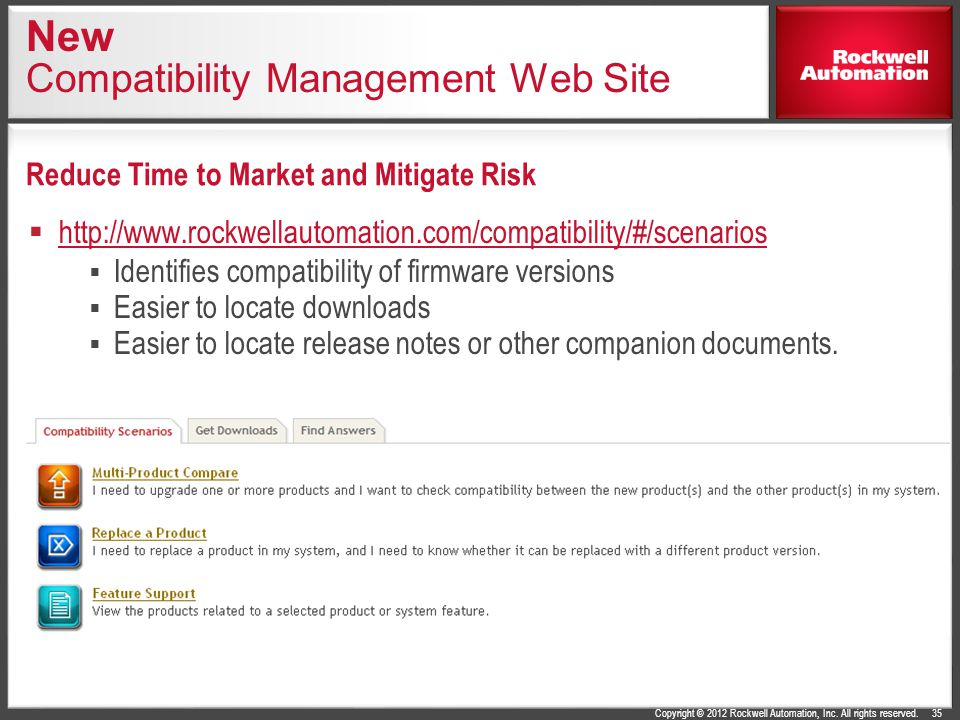 New Compatibility Management Web Site
