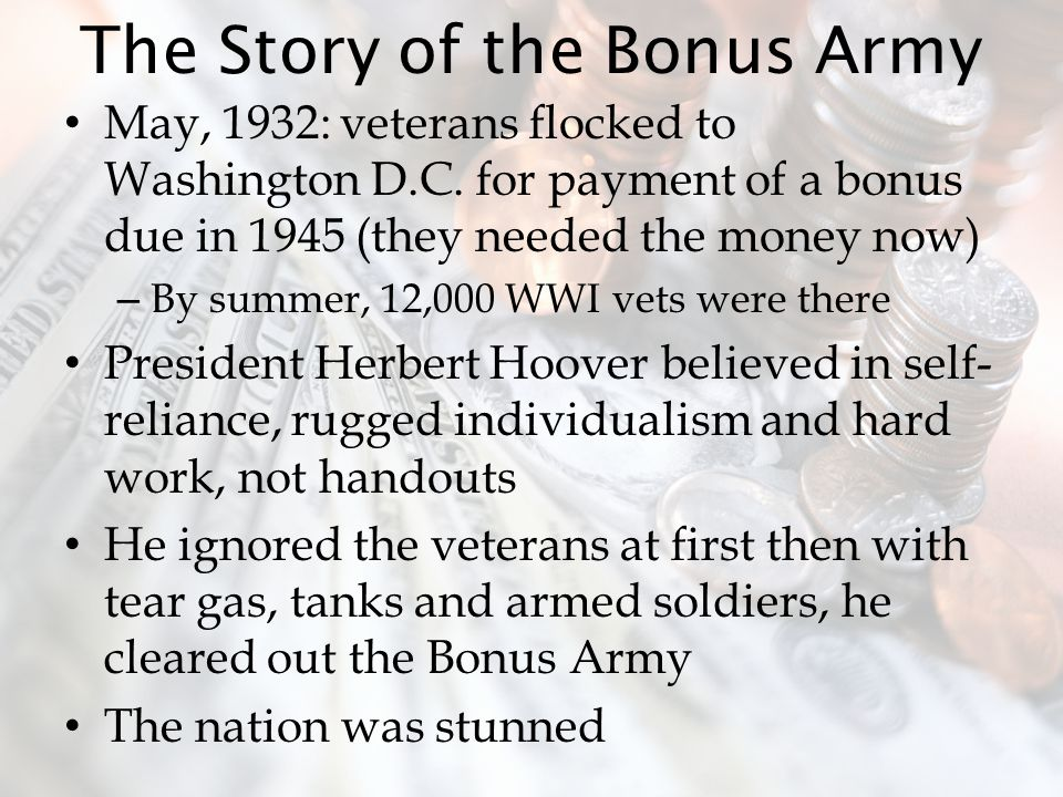 The Story of the Bonus Army