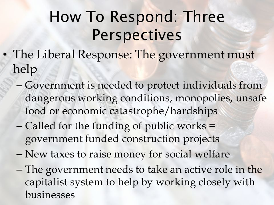 How To Respond: Three Perspectives