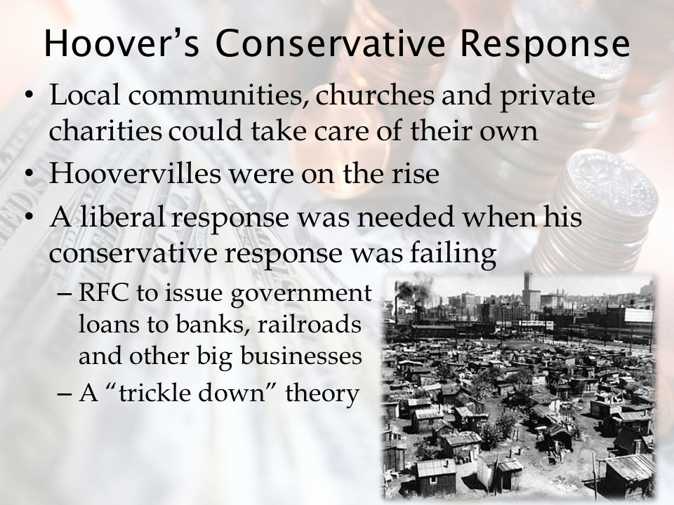Hoover's Conservative Response
