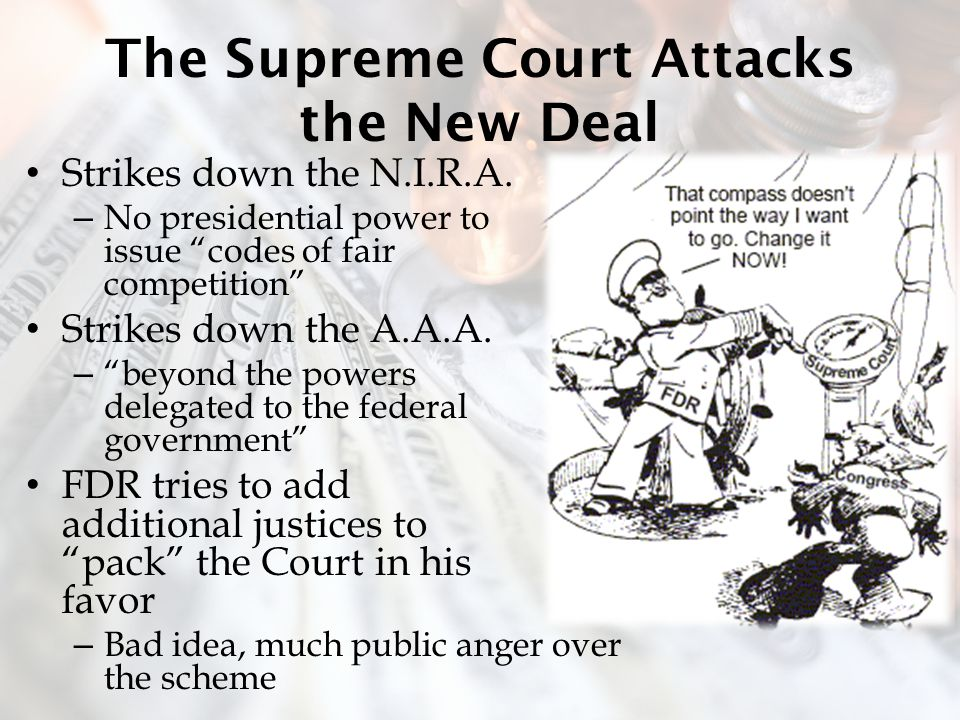 The Supreme Court Attacks the New Deal