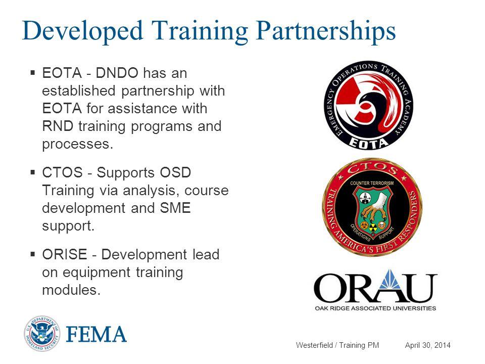 Developed Training Partnerships