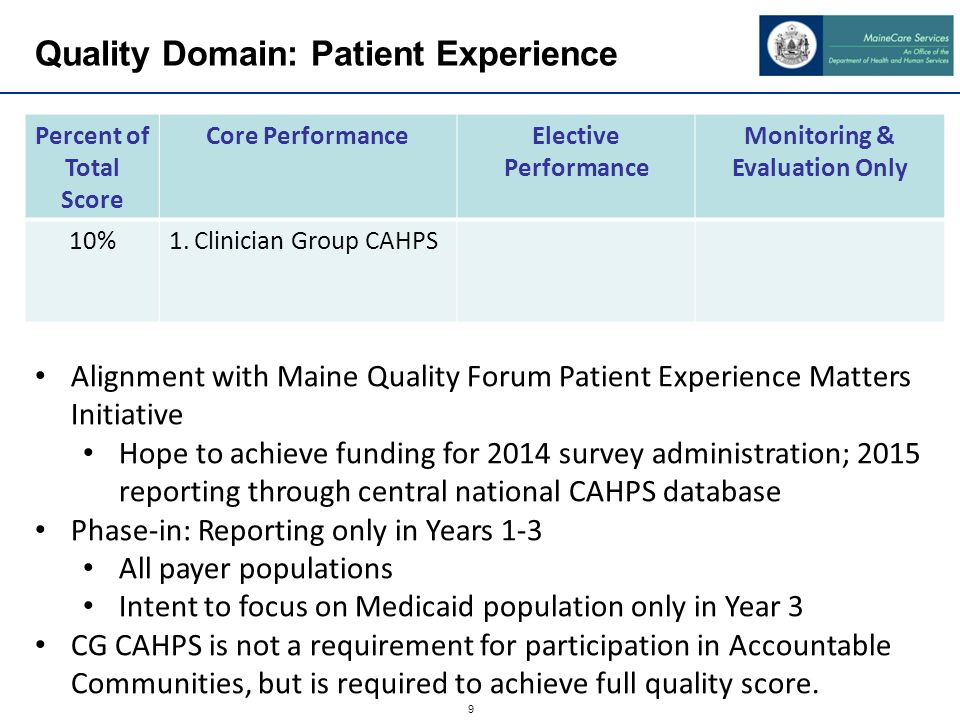 Quality Domain: Care Coordination/ Patient Safety