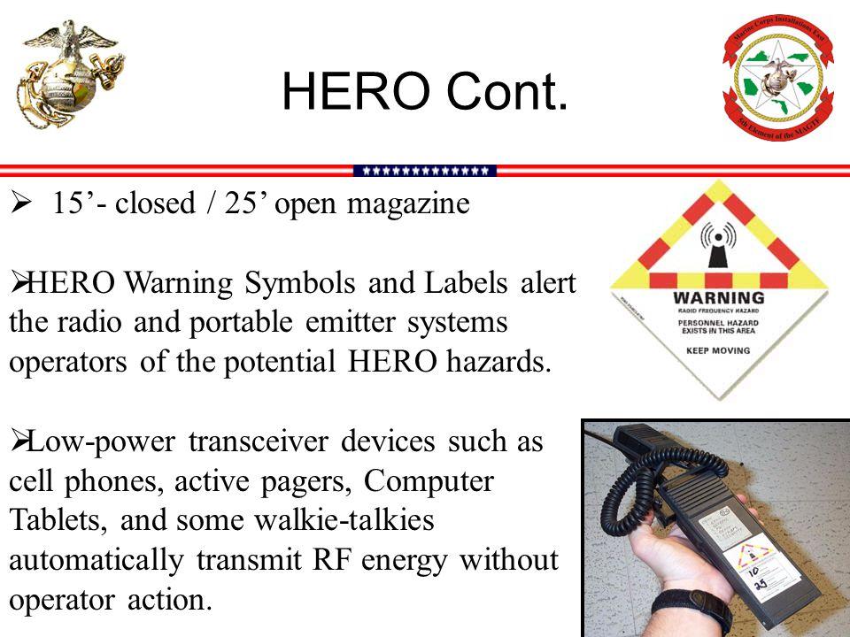 HERO Cont. 15'- closed / 25' open magazine