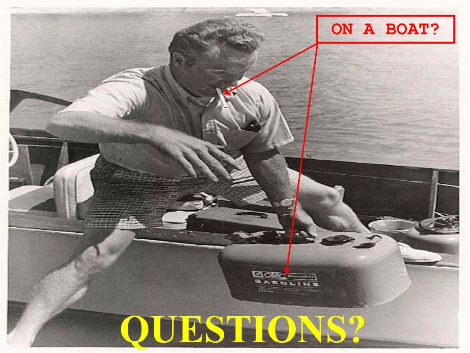 ON A BOAT QUESTIONS