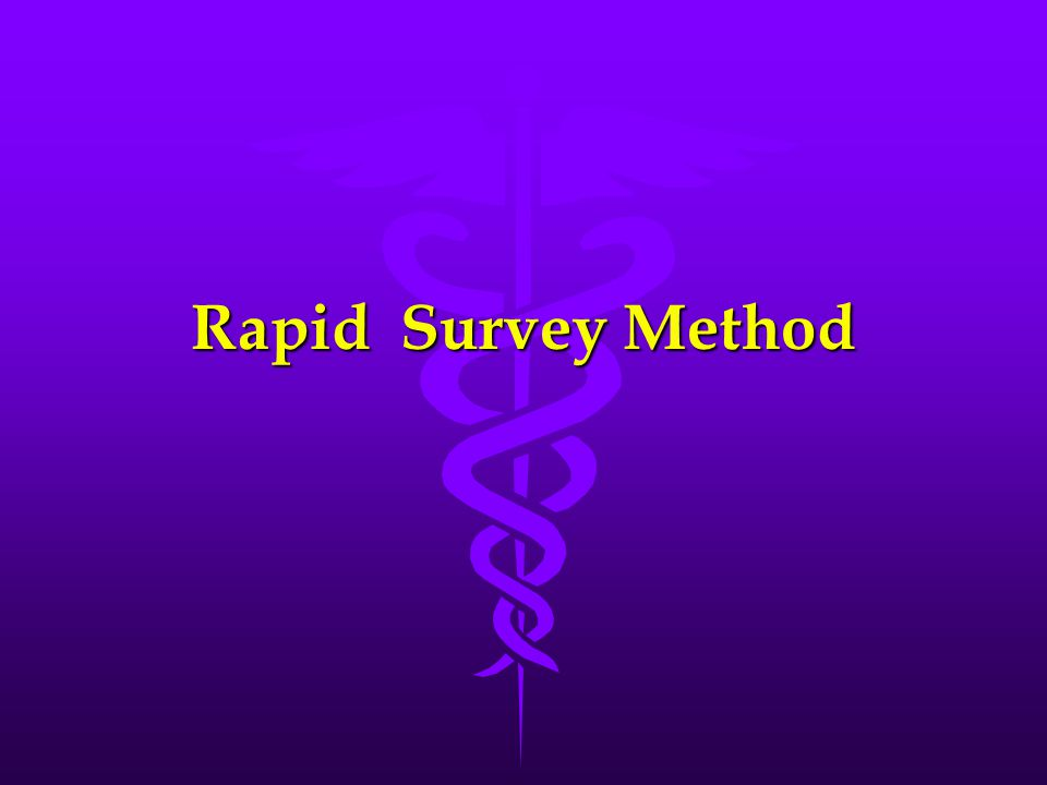 Rapid Survey Method