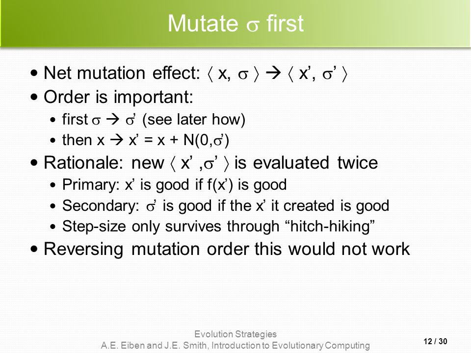 Mutate  first Net mutation effect:  x,     x', ' 