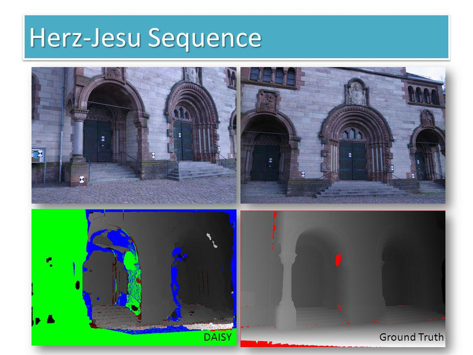 Herz-Jesu Sequence DAISY Ground Truth