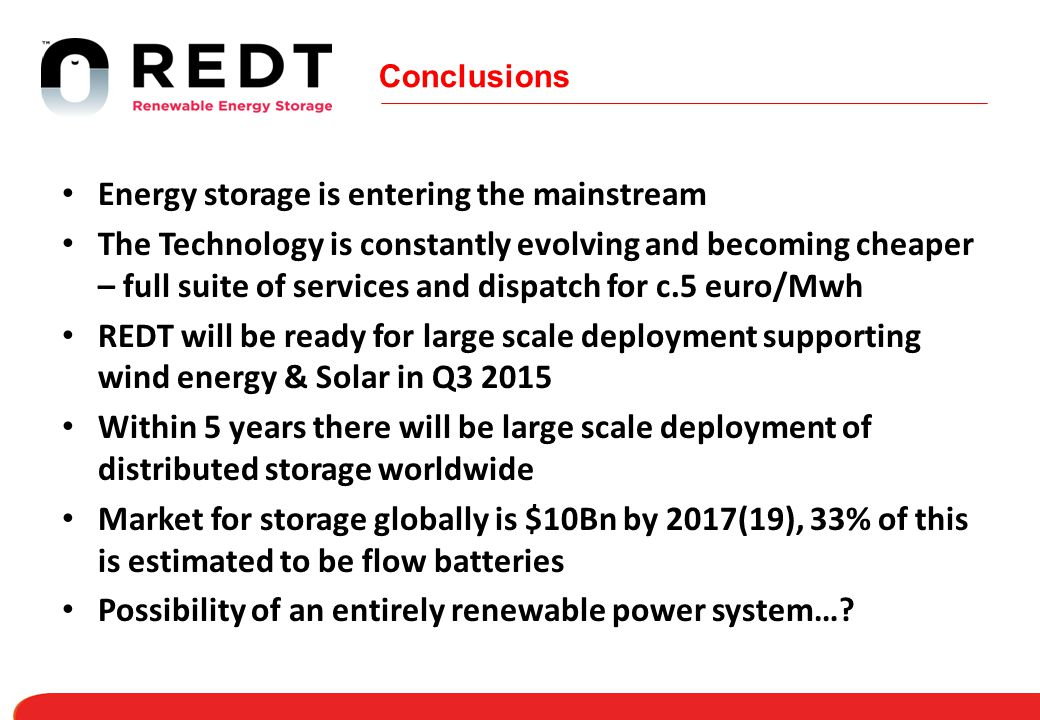 Energy storage is entering the mainstream