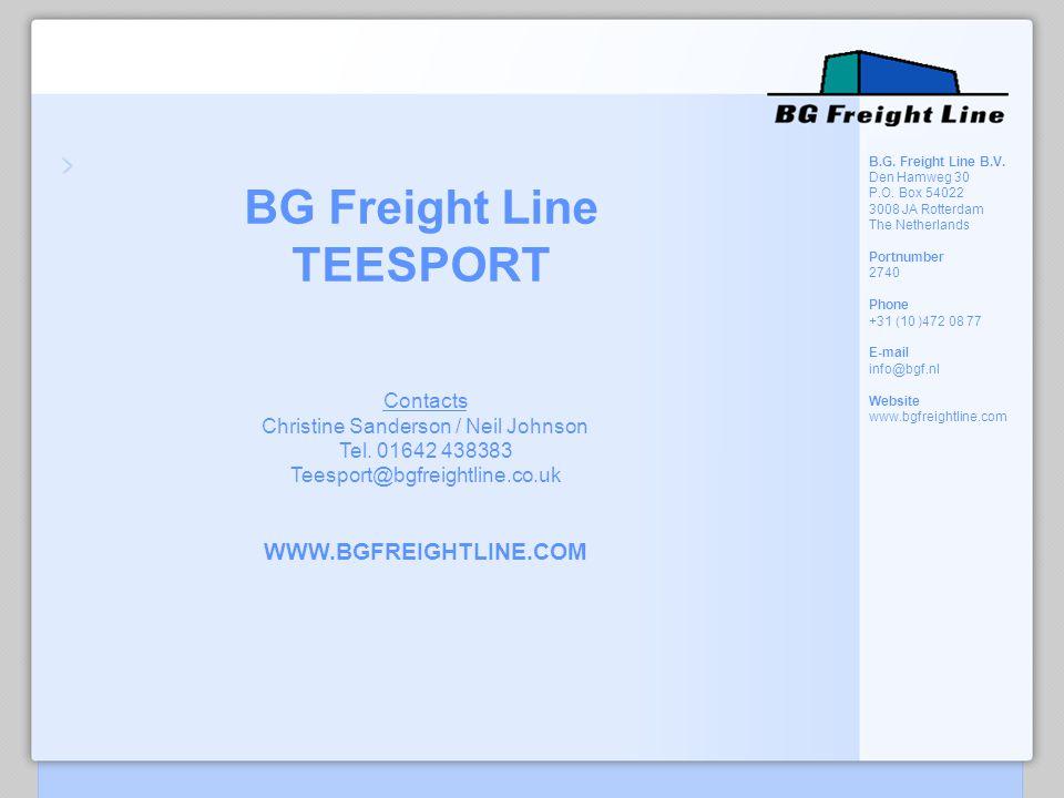 BG Freight Line TEESPORT