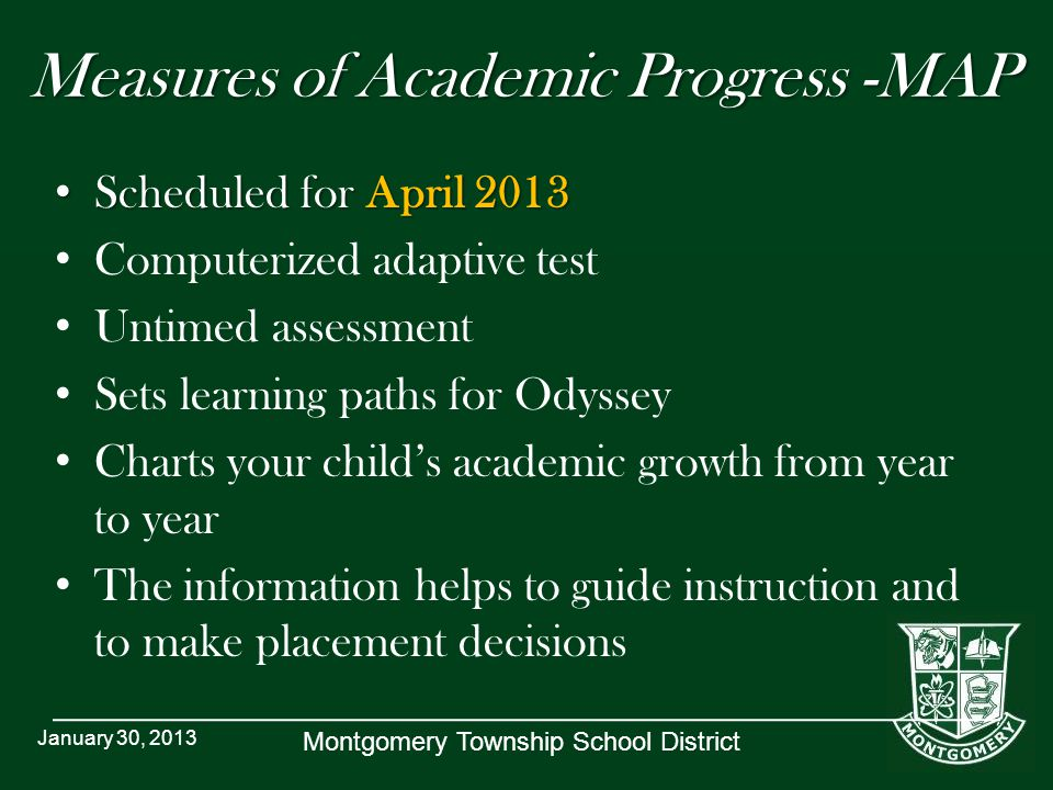 Measures of Academic Progress -MAP