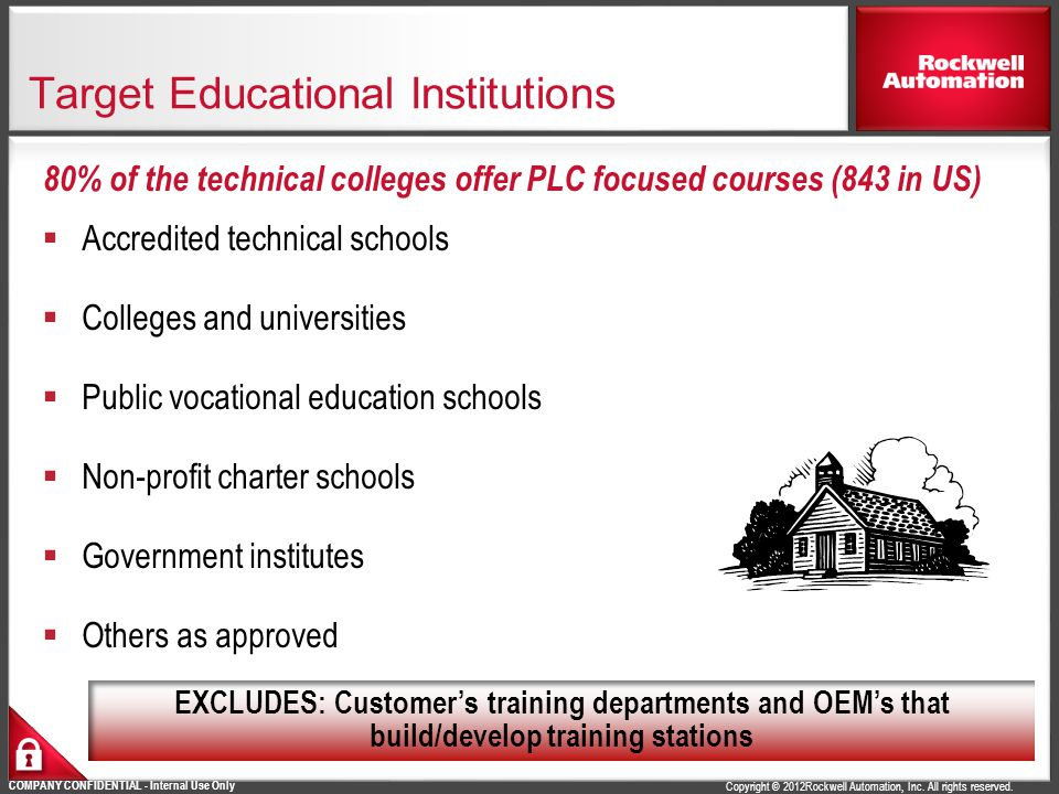 Target Educational Institutions