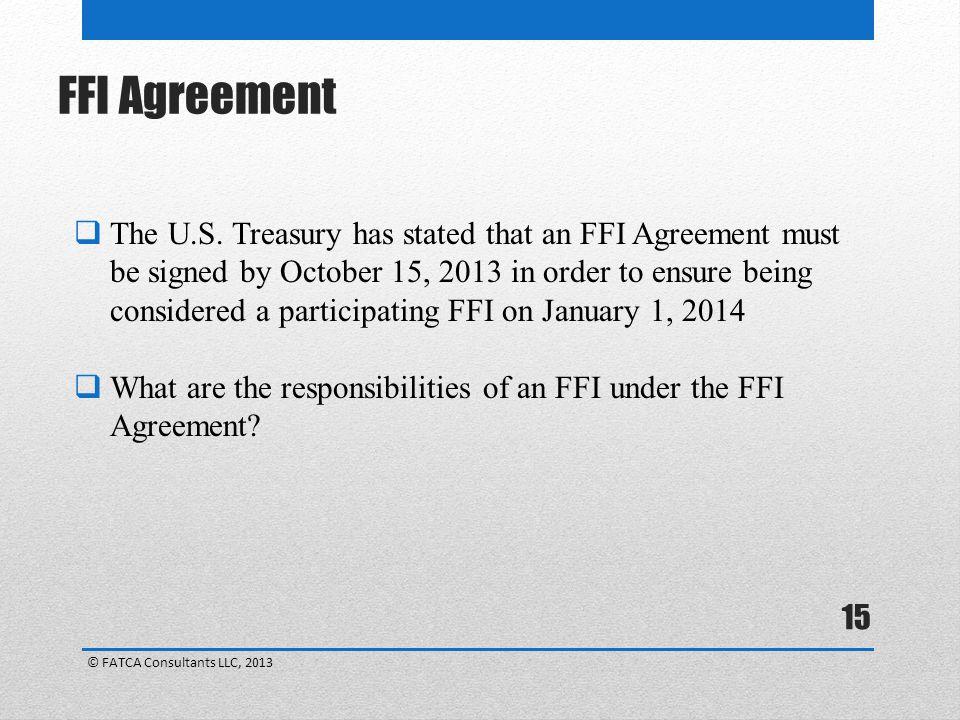 FFI Agreement