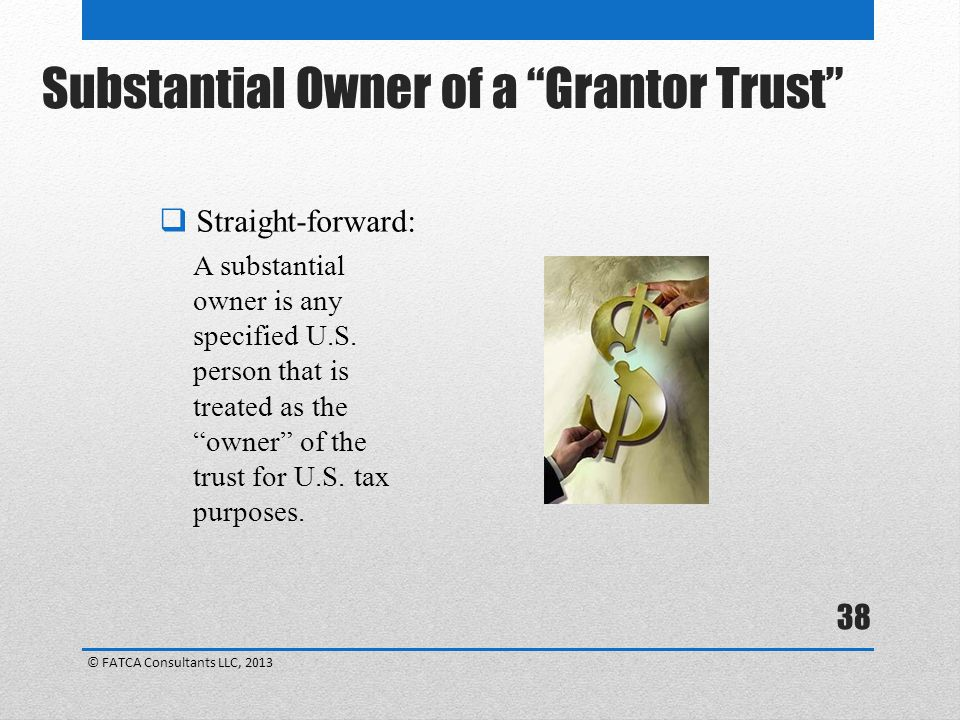 Substantial Owner of a Grantor Trust